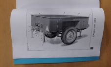 1/2 ton. 2 wheeled trailer.Cargo MK1 and MK2. Illustrated parts list.